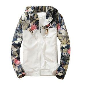Men's Floral Jacket